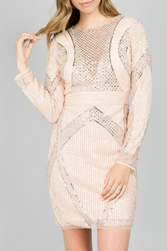 Shoptiques Product: Embellished Cocktail Dress