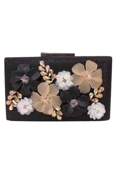 Sondra Roberts Embellished Floral Clutch - Alternate List Image