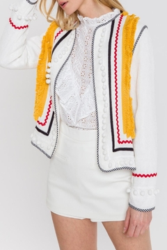 English Factory Embellished Jacket - Product List Image