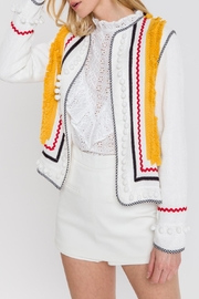 English Factory Embellished Jacket - Product Mini Image