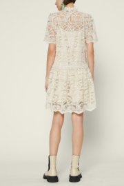 Current Air  Embellished Lace Mini Dress - Front full body