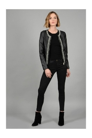 Molly Bracken Embellished Moto Jacket - Product Mini Image