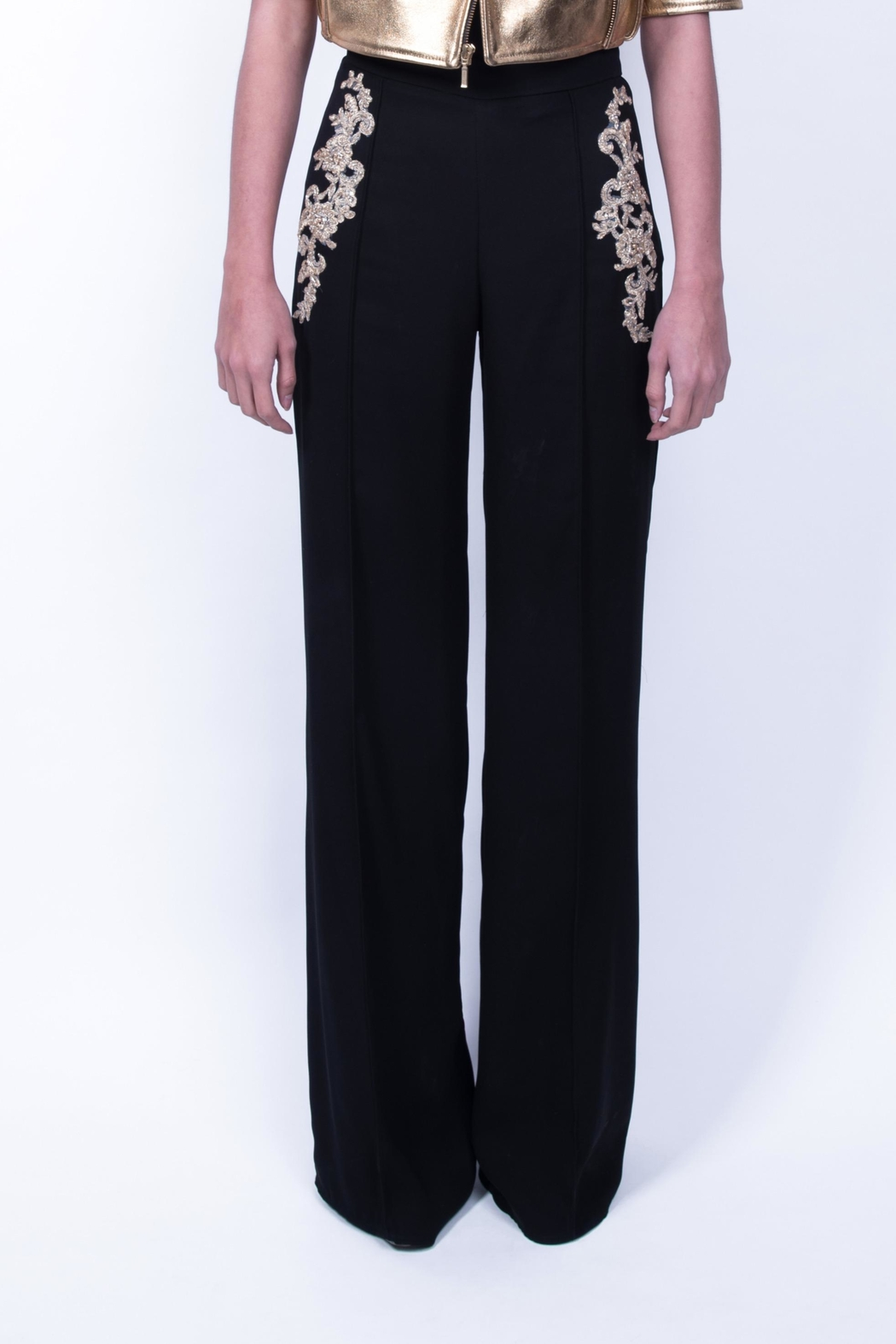 643c6ceac43 Viesca y Viesca Embellished Pant from Mexico — Shoptiques