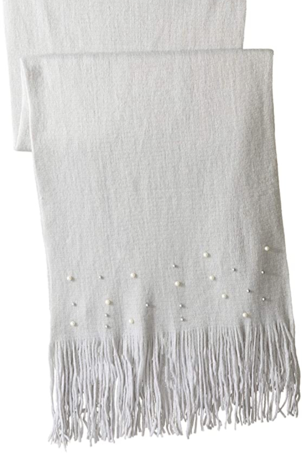 Echo Design Embellished Pearl Muffler Scarf From New Jersey By Le Papillon Shoptiques