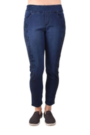 True Blue Clothing Embellished Skinny Jean - Product Mini Image