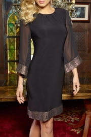 Frank Lyman Embellished Sleeve Dress - Product Mini Image