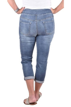True Blue  Embellished Stone Capri - Alternate List Image