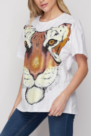 SP Embellished Tiger Tee - Front full body
