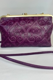 Hobo Embossed Eggplant Cross body bag - Product Mini Image