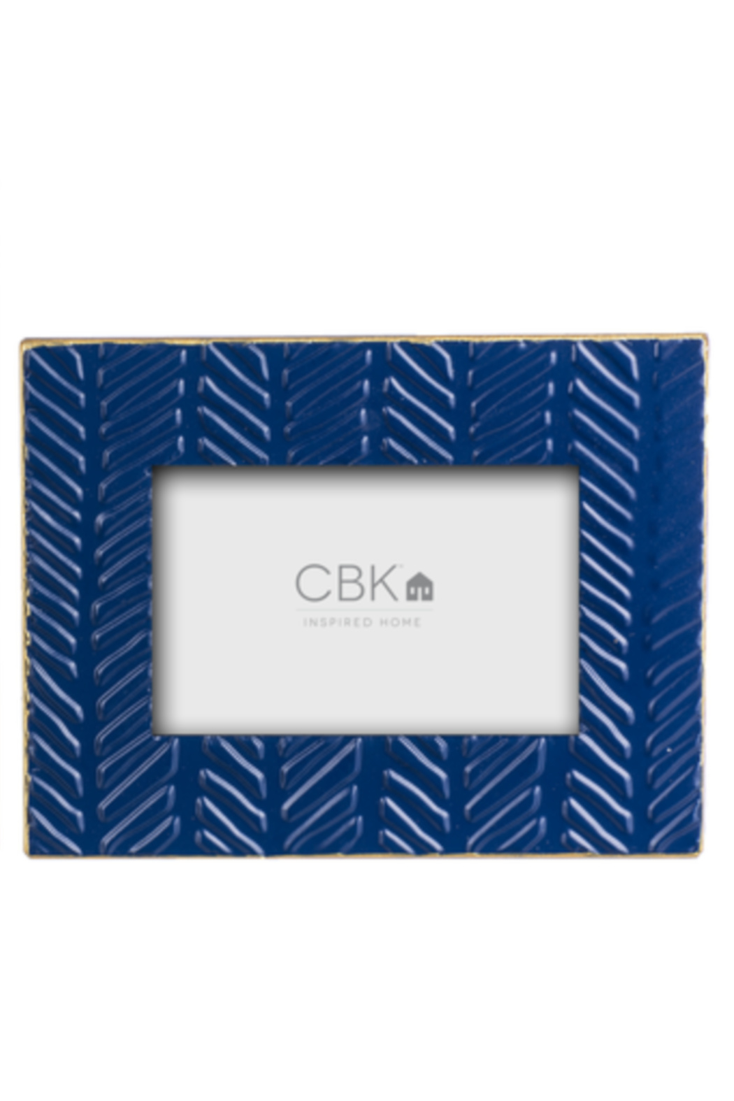 Ganz Embossed Geometric Picture Frames - Main Image