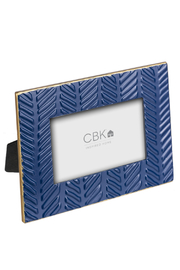 Ganz Embossed Geometric Picture Frames - Front full body