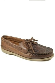 Kobler Inc. Embossed Leather Moccasin - Product Mini Image