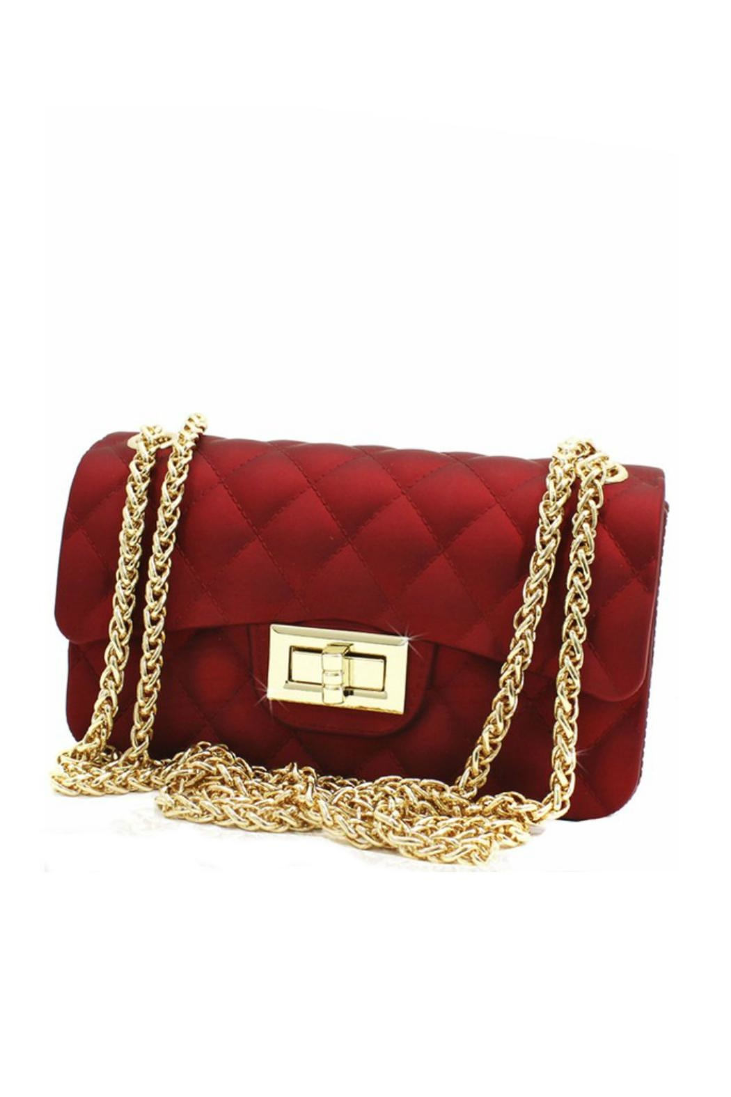 Minx Embossed Quilted Handbag Front Cropped Image