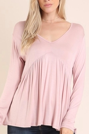 Embrace Blush Babydoll Top - Product Mini Image