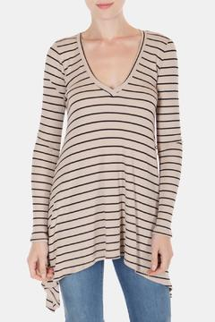 Shoptiques Product: Soft Striped Tunic