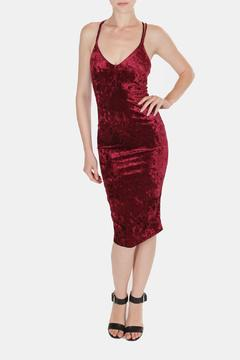 Shoptiques Product: Velvet Crush Midi Dress