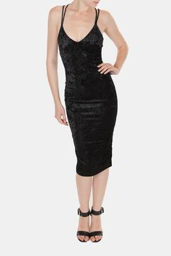 Shoptiques Product: Velvet Crush Midi-Dress