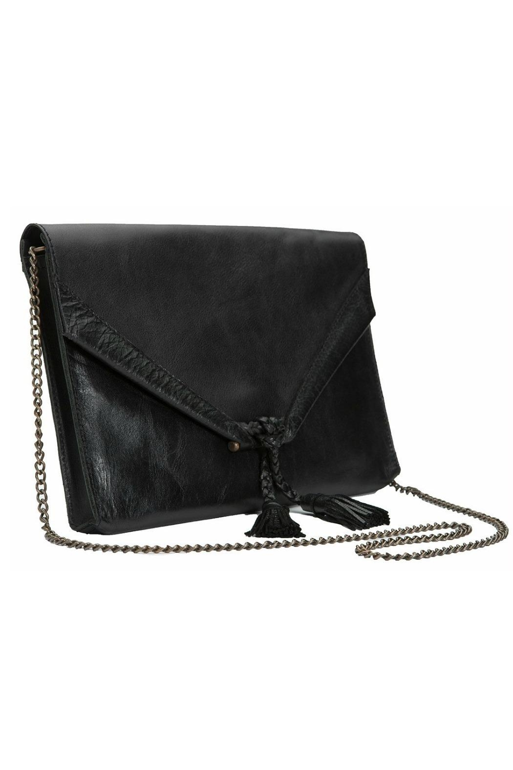 Embrazio Envelope Leather Clutch - Main Image