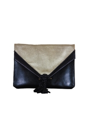 Embrazio Envelope Leather Clutch - Front cropped