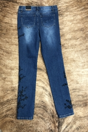 GG Jeans Embrodiered  Slim jeans - Product Mini Image