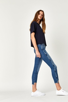 Mavi Jeans Embrodiered Step Hem - Alternate List Image