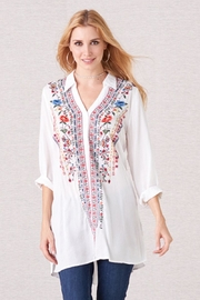 Biz Embrodiered Tunic - Front cropped