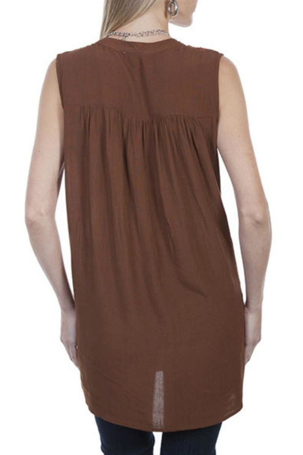 Scully Embrodiery Tunic - Front Full Image