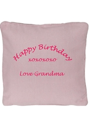 Embroider Buddy Memory Pillow - Front cropped