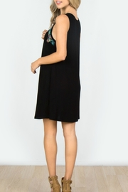 Mur Monoreno Embroiderd Sleeveless Dress - Side cropped
