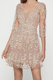 BCBG MAXAZRIA Embroidered A-Line Dress - Product Mini Image