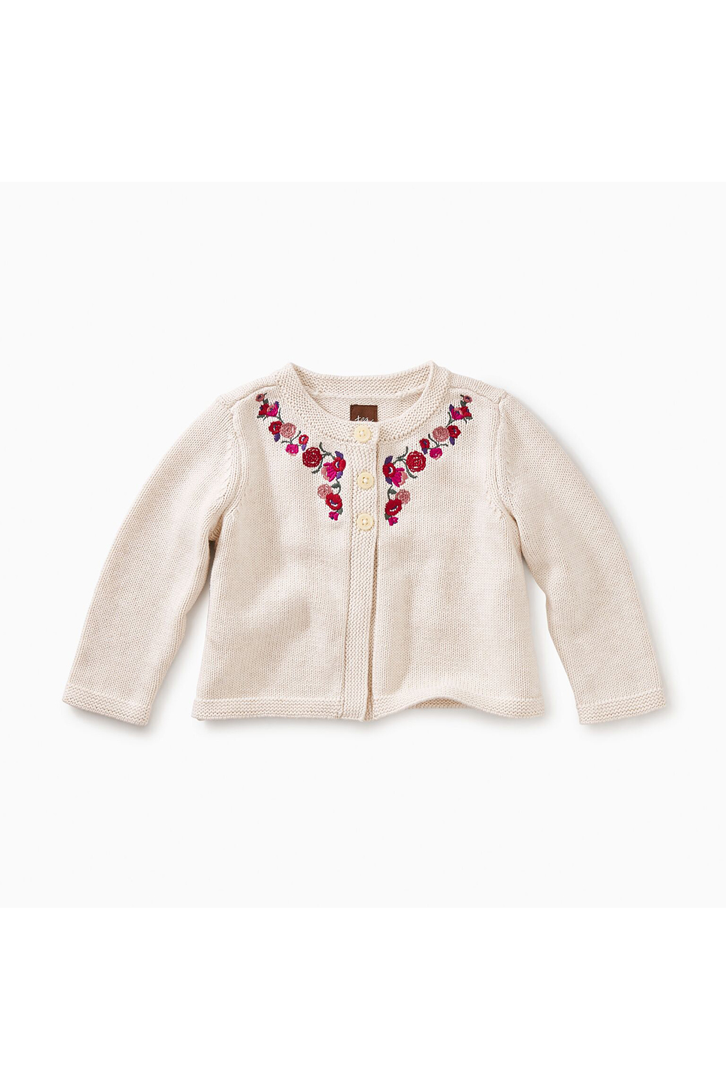 Tea Collection Embroidered Baby Cardi - Main Image
