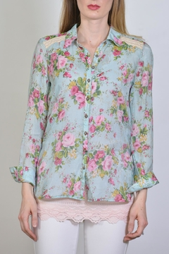 Shoptiques Product: Embroidered Back Shirt