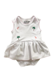 SAMMY & NAT Embroidered Ballerina Romper - Product Mini Image