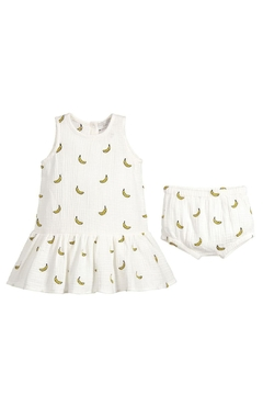 Shoptiques Product: Embroidered Banana Dress