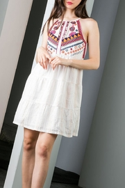 THML Clothing Embroidered Beaded Dress - Product Mini Image