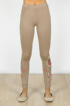 Shoptiques Product: Embroidered Beauty Leggings