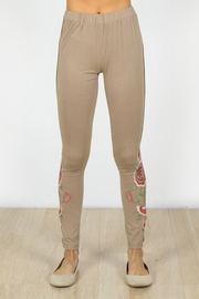 Mur Monoreno Embroidered Beauty Leggings - Product Mini Image