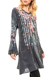 Adore Embroidered Bell Blouse - Product Mini Image