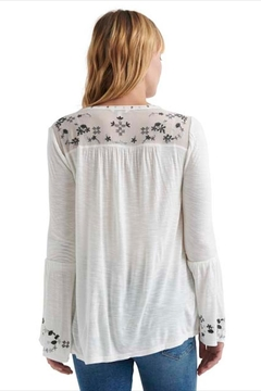 Lucky Brand Embroidered Bell Sleeve - Alternate List Image
