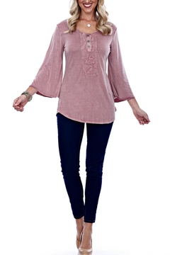 Parsley & Sage Embroidered Bell Top - Alternate List Image