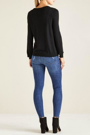 Yumi Embroidered Bird Jumper - Front full body