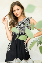 Thml Embroidered Black Dress - Other