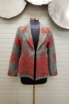 Scapa Embroidered Blazer - Product List Image