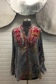 The Nu Vintage Embroidered Blouse - Product Mini Image