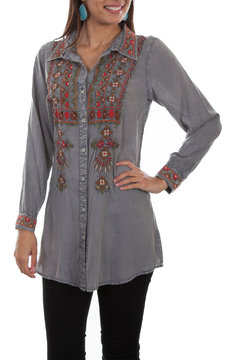 Scully Embroidered Blouse - Alternate List Image