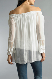 Tempo Paris Embroidered Blouse - Front full body