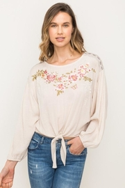 Mystree Embroidered  Blouse - Product Mini Image