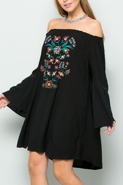 ee:some Embroidered Boho Dress - Product Mini Image