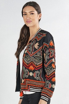 Love Stitch Embroidered Bomber - Product List Image