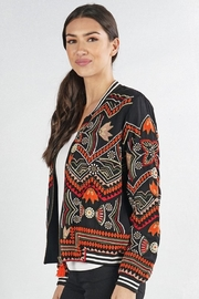 Love Stitch Embroidered Bomber - Product Mini Image